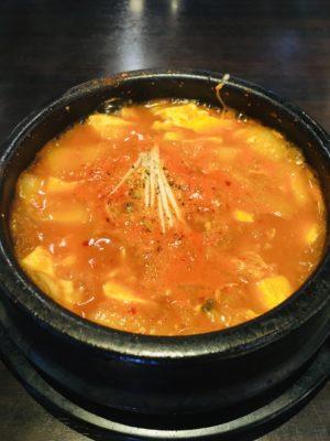 韓国鍋 スンドゥブ